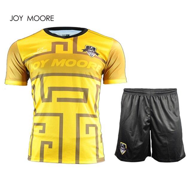 ce56dce46 plain round v jersey slim fit soccer jersey original football sets free  shipping