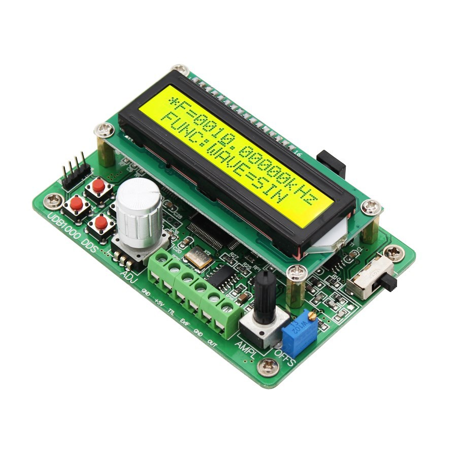 UDB1002S Series DDS Signal Source Module Signal Generator With 60MHz Frequency Meter