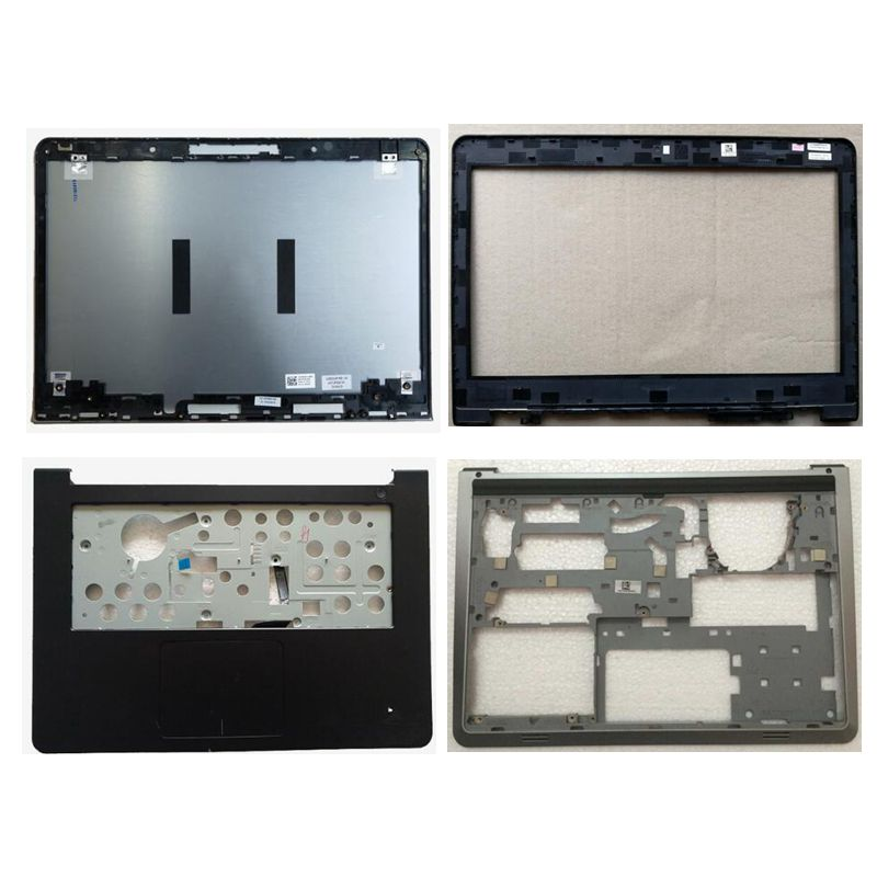 все цены на NEW shell For Dell Inspiron 14 5000 5447 5445 5448 LCD Top Cover/LCD front bezel/Palmrest Upper Touchpad/bottom case cover онлайн