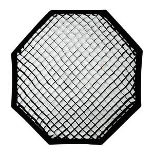 """Image 4 - Godox Pro 120 cm 47 """"Studio octogone nid dabeille grille Softbox réflecteur Softbox avec monture Bowens pour Flash Studio stroboscopique"""