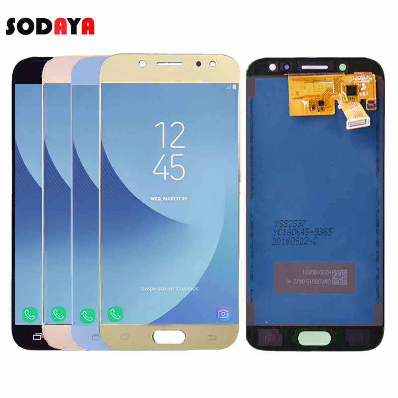 Adjustable Brightness For Samsung Galaxy J5 2017 J530 J530F SM-J530F LCD Display + Touch Screen Digitizer Assembly
