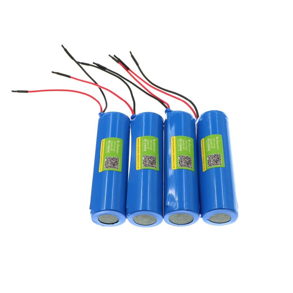 2 шт., перезаряжаемые литий-ионные аккумуляторы 3,7 в/4,2 в для Kedanone, 18650 мАч, отрицательный провод + бесплатная доставка