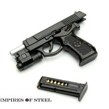 """Модель оружия солдата 1/6 QSZ92 полуавтоматический пистолет Модель винтовки пластиковый пистолет игрушки для 1"""" фигурки горячие подарки"""