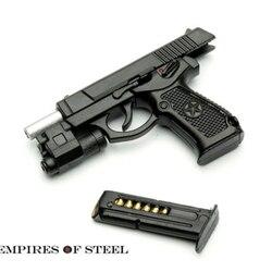 Солдатское оружие Модель 1/6 QSZ92 полуавтоматический пистолет винтовка модель игрушечный пластиковый пистолет для 12