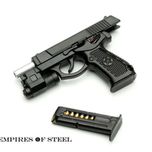 Soldier Weapon Model 1/6 QSZ92 Semi-automatic Pistol Rifle Plastic Gun Toys For 12 Action Figure Hot Gifts
