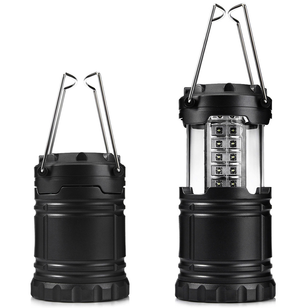 30 LED Hand Lamp Portable Led Light Solar Collapsible Camping Lantern Tent Lights Emergency Lantern For Hiking Outdoor Lighting