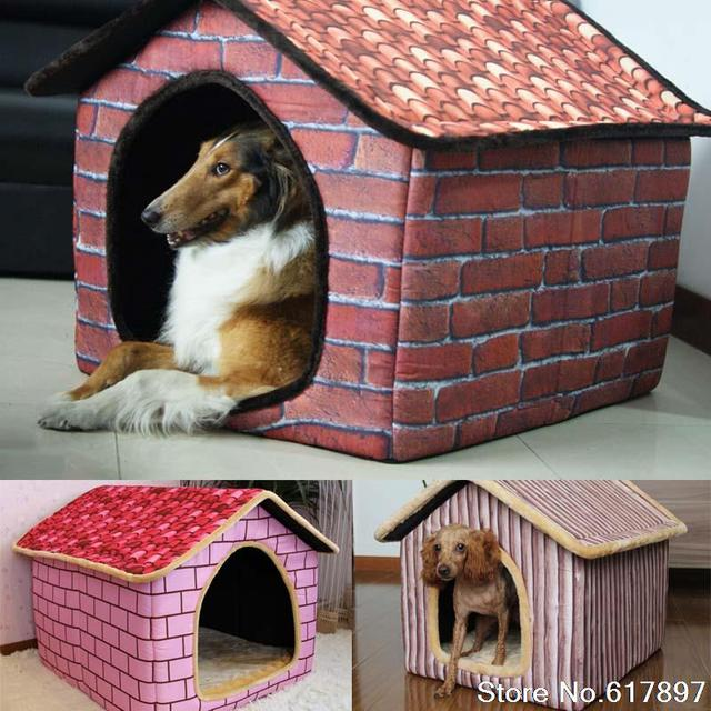 Cama Para Cachorro Grande Bricks Design Luxury Large dog house XXL pet bed kennel for dogs & Cama Para Cachorro Grande Bricks Design Luxury Large dog house XXL ...