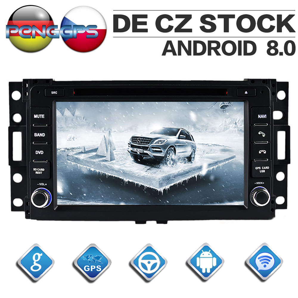 Octa Core CD DVD Player 2 Din Stereo Android 8 0 Car Radio for HUMMER H3