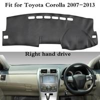 Auto Accessories Dashmat Dashboard Covers Non Slip Dash Pad Car Mat Carpet Sun Shade For Toyota Corolla 2007 2013