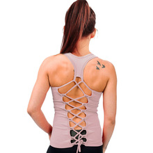 Candy Colors Backless Bandage Tank Tops Women Slim Sporting Fitness Vest 6 Styles Sexy Solid color Elastic Breathable Sleeveless