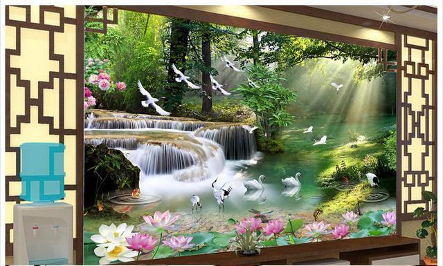 3d Photo Wallpaper Custom 3d Murals Wallpaper Wall Paper High End