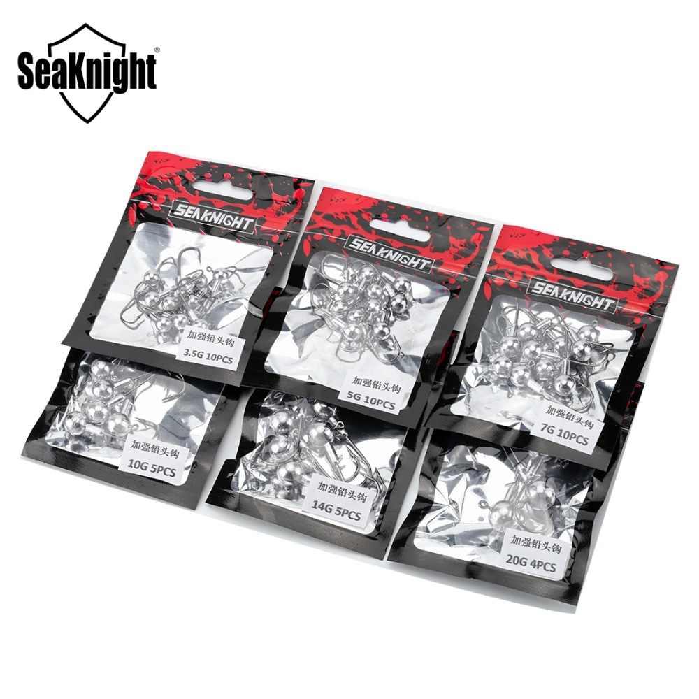 SeaKnight SK01 الصيد السنانير 3.5 جرام 5 جرام 7 جرام 10 جرام 14 جرام 20 جرام طعم سمك التنغستن الصلب السنانير الصيد هوك غرق ملحقات صيد سمك يعالج