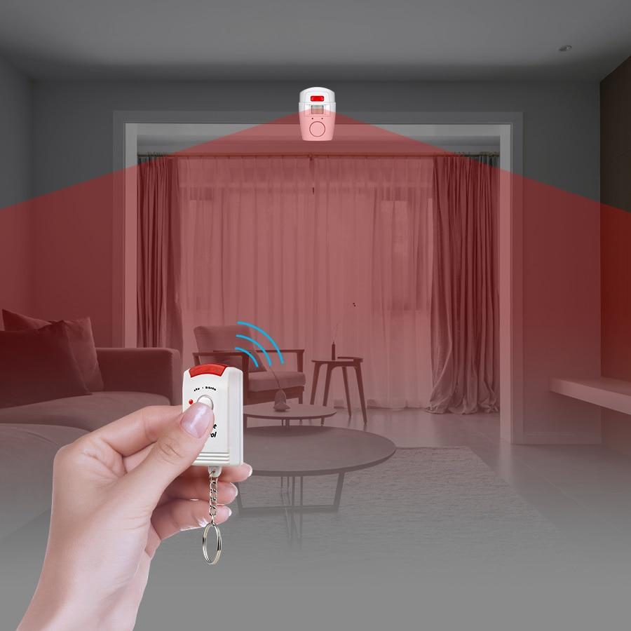 KERUI Alarma de seguridad para el hogar Alerta PIR Infrarrojo - Seguridad y protección - foto 4