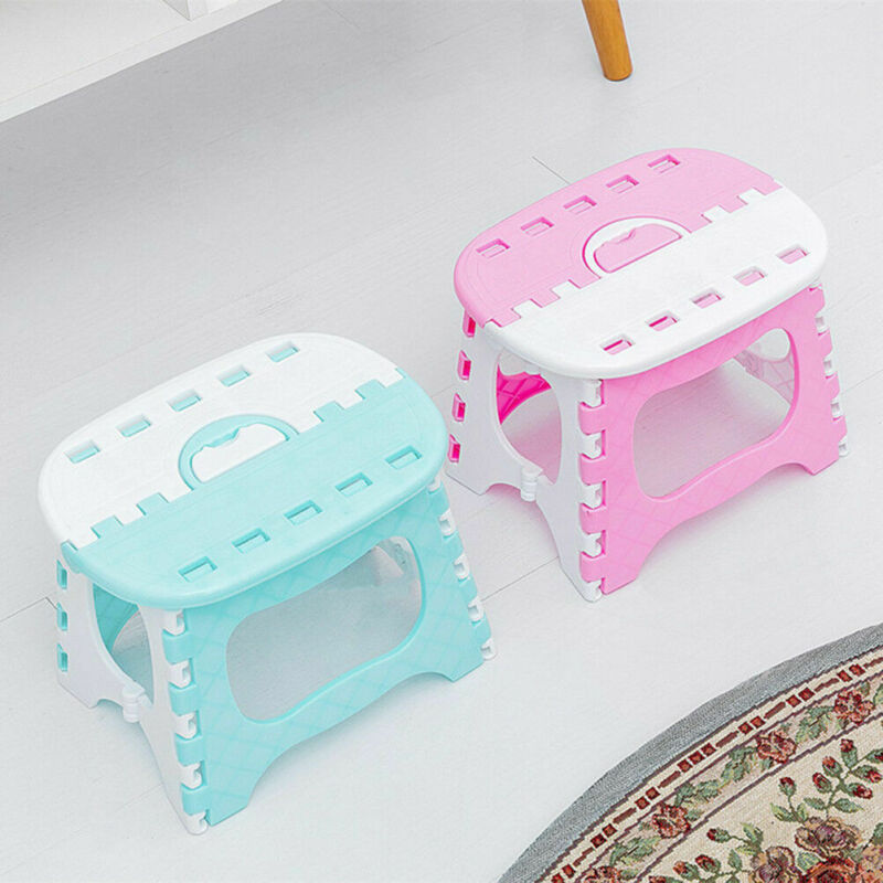 Folding Stool Camping Chair Seat for Fishing Convenient Plastic Portable Step Stool Home Train Outdoor Indoor Foldable Chair Hot