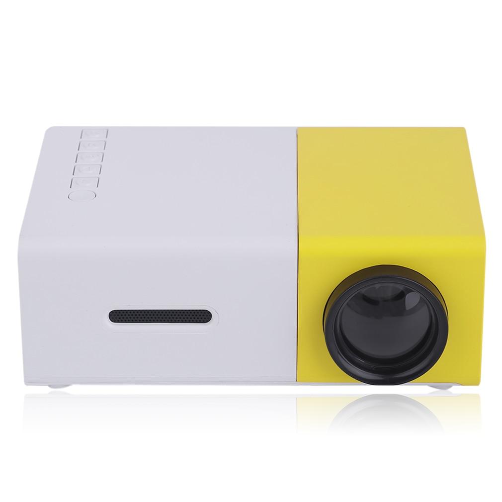 Mini maison Projecteur 3D 320*240 HD tv portative Home Cinéma projecteur led lecteur multimédia vidéo Pour Android Pour Réunion