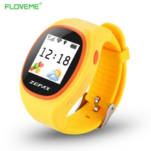 Floveme kinder gps tracking smart watch anti-verlorene smartwatch gprs sim-karte kinder uhren sos anruf armband bluetooth armband