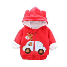 ARTICULO Winter Baby Girl Warm Hooded Kids Cotton