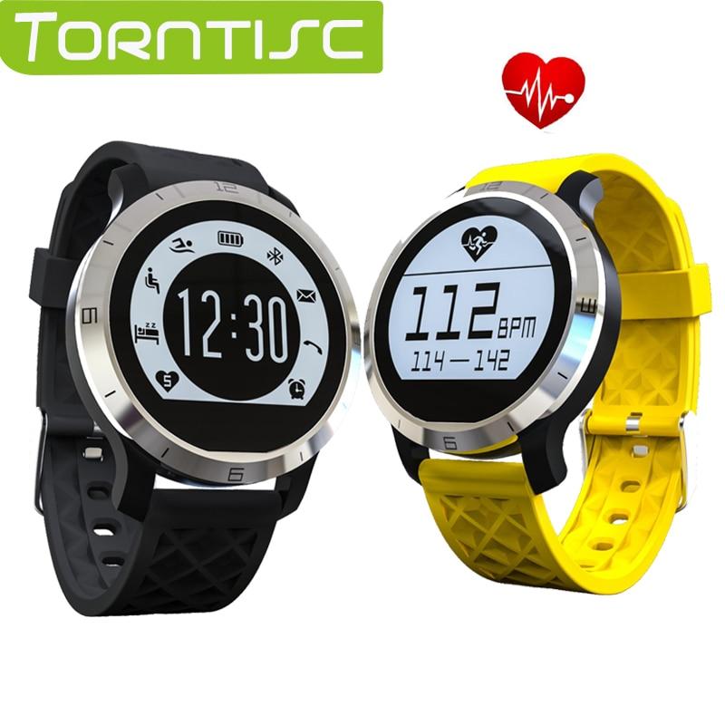 imágenes para Torntisc f69 smart watch ip68 a prueba de agua deportes al aire libre llamada de soporte sms recordatorio podómetro monitor del ritmo cardíaco para android ios