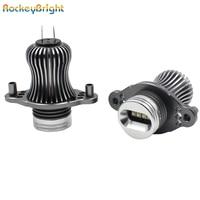 Rockeybright 12v 40W bright led marker headlight bulb for bmw e90 e90 lci 7000k white led angel eyes for bmw e90 led headlight