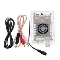 DIY DC 12V To 34V TDA7498 High Power Digital Amplifier Board 2X100W Car Computer