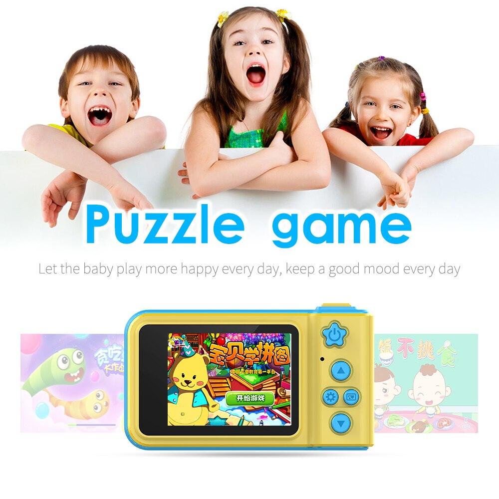 HTB1Z7HuaynrK1Rjy1Xcq6yeDVXaJ Kebidu Mini Digital Camera 2 Inch Cartoon Cute Camera Toys Children Birthday Gift 1080P Toddler Toys camera