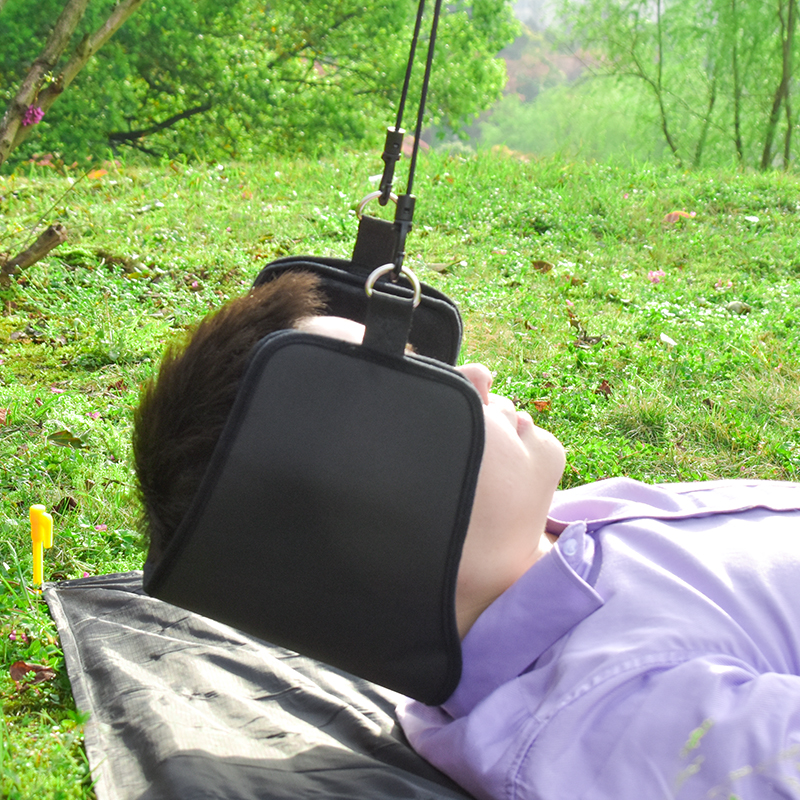 2018 Neck Hammock Nerves Pressure Tension Headaches Pain Relief Massager Traction Device Cervical Posture Alignment Support relations between epileptic seizures and headaches