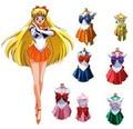 7styles Sailor Moon Cosplay Costume Uniform Fancy Dress Up Sango Minako & Sailor Neptune & Sailor Mars Full Set Battleframe