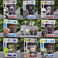 Hot Sale Funko POP Star Wars Darth Vader NO.01 MAUL Captain Phasma BB-8 BOBA FETT YOOA Bobble-head Toys PVC Action Figure Toy