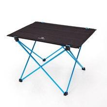 Nowoczesny odkryty stół piknikowy kemping przenośny stopu aluminium składane stół wodoodporna tkanina oxford Ultra lekkie trwałe stoły