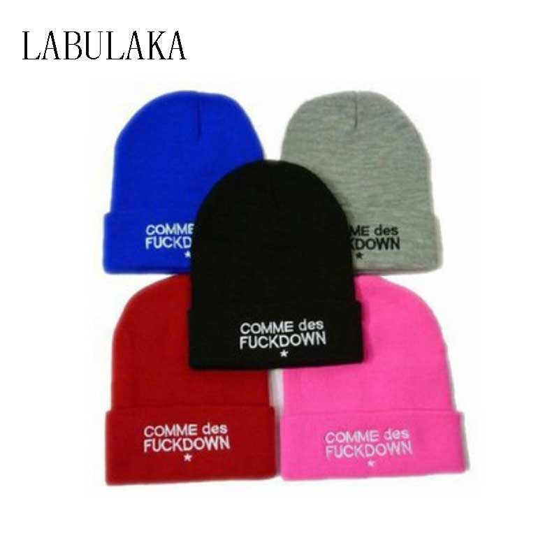 30e6e320cd5 Detail Feedback Questions about SSUR COMME DES FUCKDOWN Bone New 2017 Sport  Spring Cap Men Hat Beanie Knitted Winter Hats For Women Fashion Caps Winter  ...