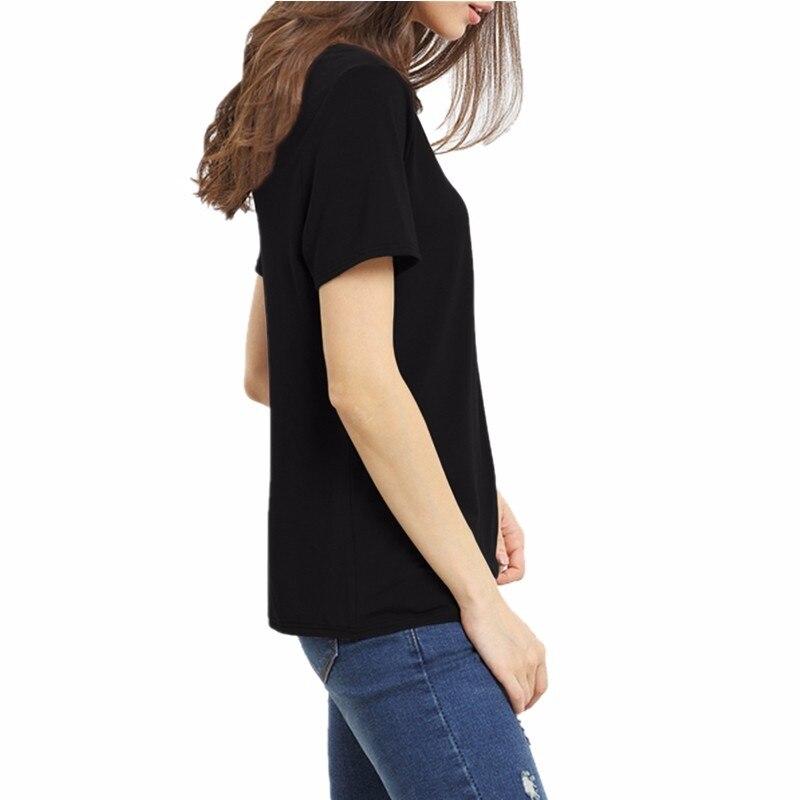 HTB1Z7ItMVXXXXavapXXq6xXFXXX4 - Bandage Sexy V Neck Criss Cross Top Casual Lady Female T-shirt