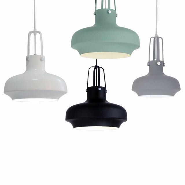 Color Modern Loft Nordic Aluminum Hanging Pendant Lamp Lamparas - 5 pendant light fixture
