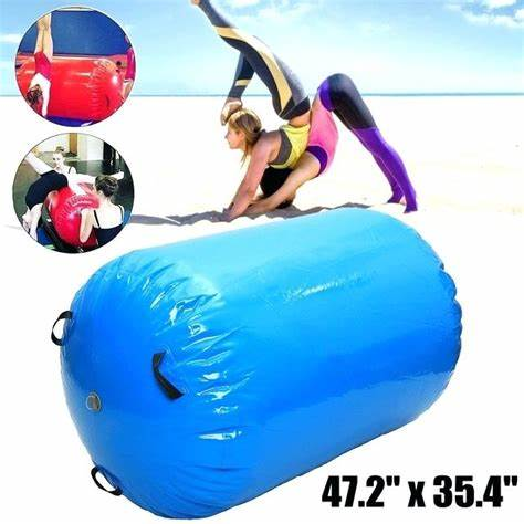 Free shipping Inflatable Air Track Home Roller Small Airtrack Gymnastics Mat Cylinder Gym Training - Camping AirtrackFree shipping Inflatable Air Track Home Roller Small Airtrack Gymnastics Mat Cylinder Gym Training - Camping Airtrack