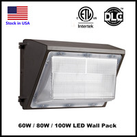 Outdoor LED Wall Pack Light 60W 80W 100W Industrial Wall Pack Fixture Light Daylights 5000K AC90