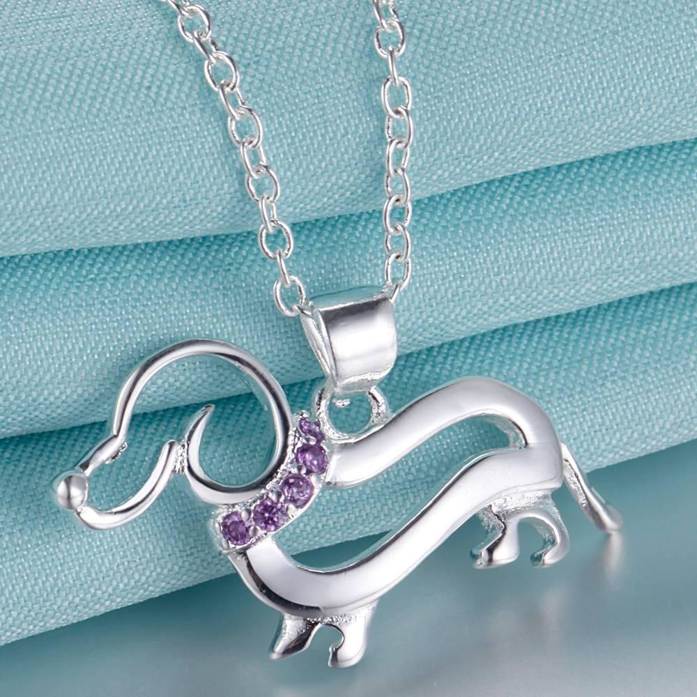 silver plated Necklace New Sale silver necklaces & pendants /NVPYOBHQ ETJXWBTK
