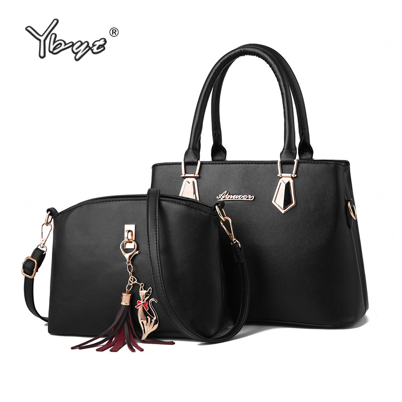 2pcs/set Women Composite Bag Luxury Handbags Women Bags Designer Crossbody Messenger Bags For Woman Shoulder Bag Bolsas Feminina