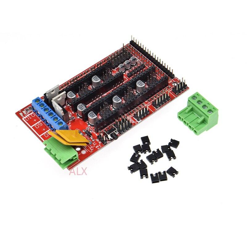 Детали для 3D-принтеров RAMPS 1,4, панель управления, часть материнской платы, щит, красный, черный, управление s Ramps1.4, аксессуары для плат
