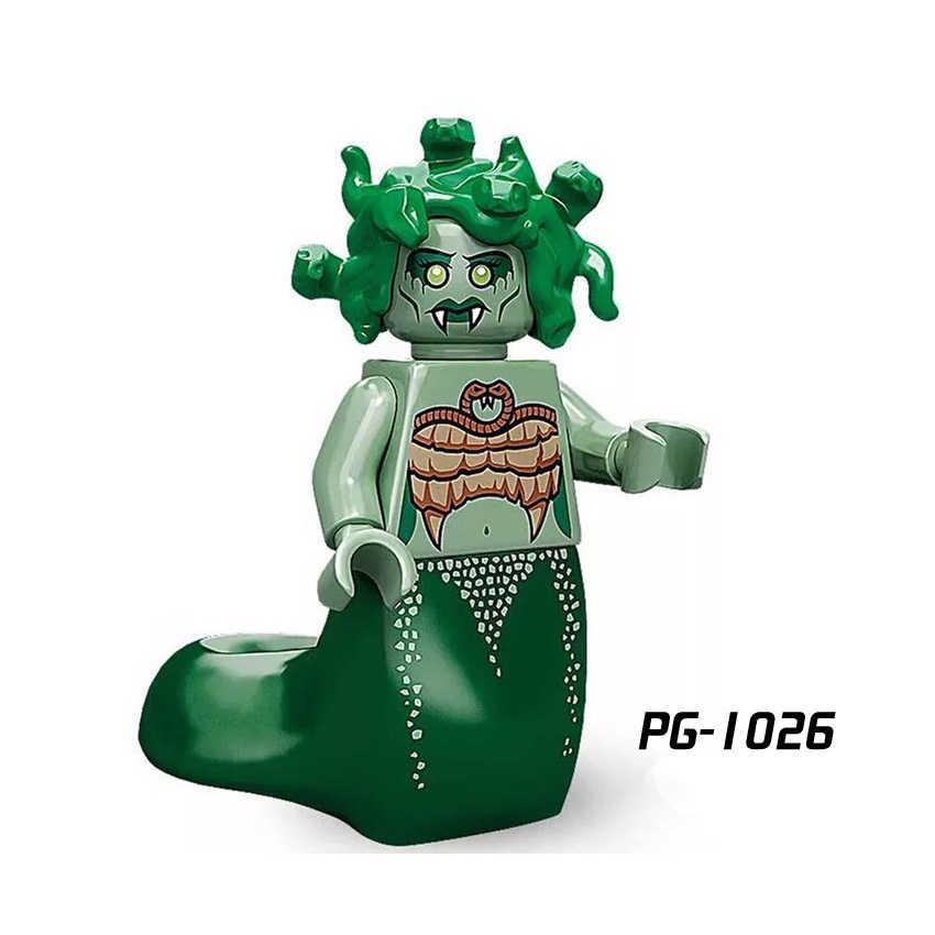 Única Venda Buzz Lightyear Compatível legoINGly Figuras Tijolos Blocos de Construção das Crianças Brinquedos unicórnio Senhora Liberdade Medusa bk37