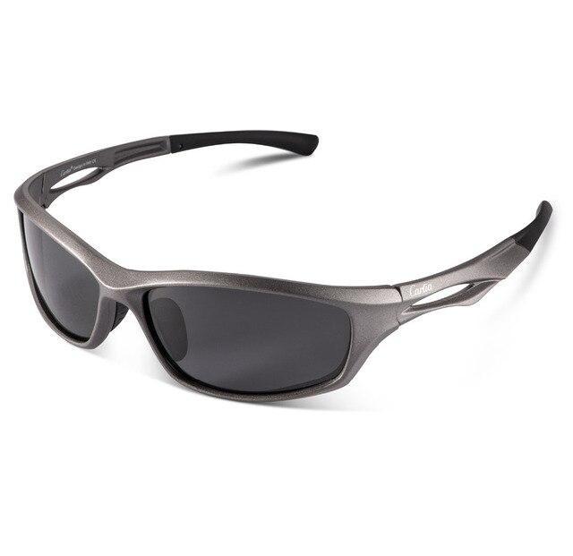 886deaa11fd Carfia TR90 Polarized Sport Sunglasses for Men or Women Cycling Fishing  Baseball Running Golf Driving