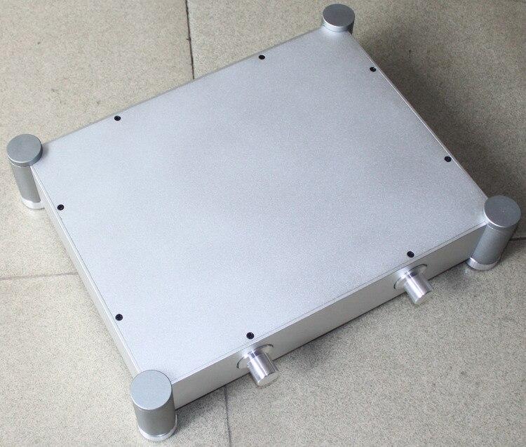 BRICOLAGE amplificateur 430*92*340mm WA22 Pleine en aluminium amplificateur châssis/ampli/Pré- amplificateur/AMPLIFICATEUR Boîtier/Boîtier/boîte de BRICOLAGE