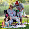 Xmas Christmas Costumes Kids Baby girl mother Pajamas Set Costume mama and girls Family matching outfits