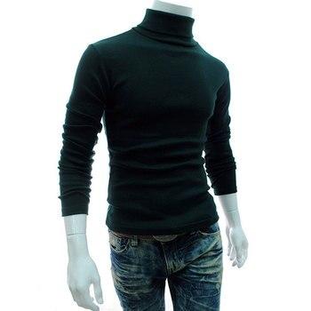 Moda Y Hombre Elástico 2018 Cuello Camisas De Primavera Tortuga Marca T Otoño Cálido Camisa Los Hombres Alto OwXiPZkuT