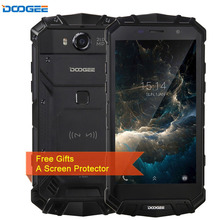 DOOGEE S60 Triple Proofing 6GB/64GB IP68 Waterproof 5580mAh Fingerprint Identification 5.2'' Android 7.0 MTK Helio P25 4G NFC(China)