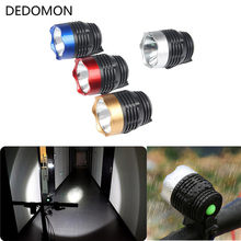 Cycling Q5 LED 3 Modes Front Light Headlamp Headlight Torch Waterproof For Mountain Road Bike 4 Colors Bicycle light(China)
