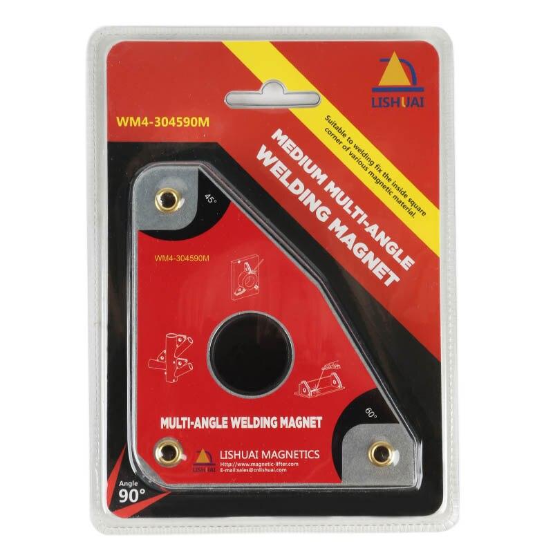 Multi-angle Forza Forte Magnete Al Neodimio di Saldatura 40kgf/Morsetto Magnetico/Magnetico Supporto di Medie Dimensioni