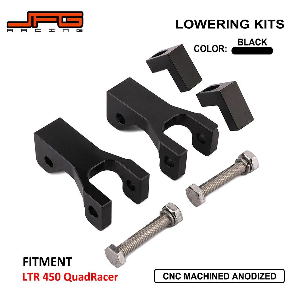 JFG RACING CNC Aluminum ATV Frontal de Bajada Kit para Kawasaki KFX 450R