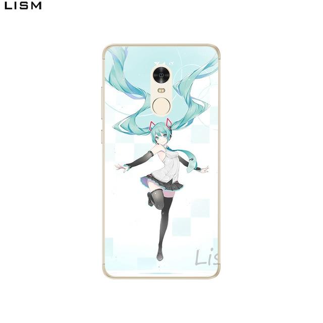 LISM Anime Japan Hatsune Miku Hard Case For Xiaomi Redmi 5A 5 Plus 6 Pro 4X 4A 6A Note 5A Prime Note 5 Pro 4X Cover 3