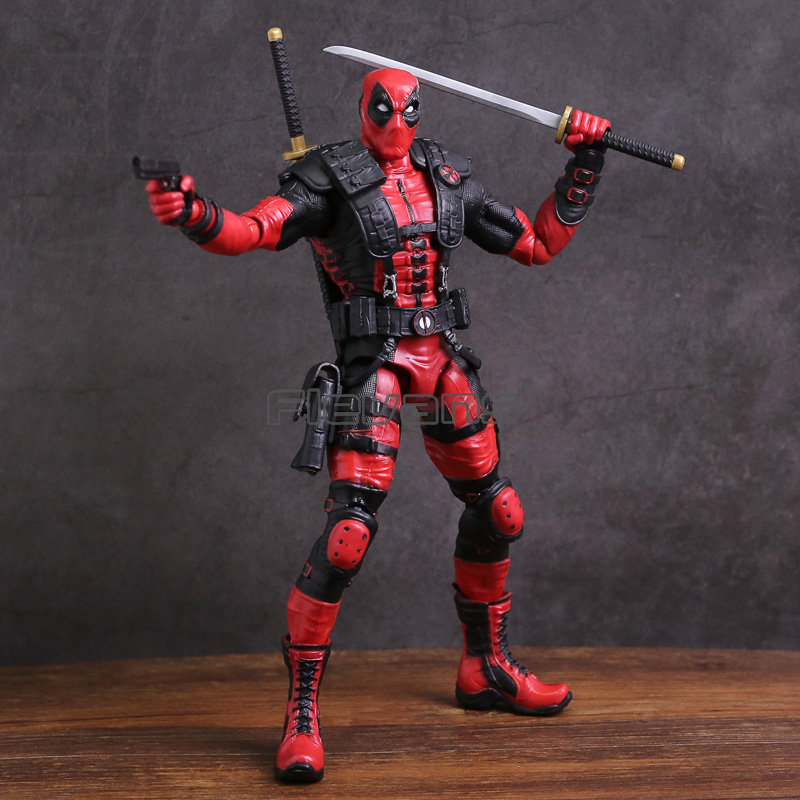 Marvel X-MEN Deadpool PVC Action Figure Collectible Model Toy fire toy marvel deadpool pvc action figure collectible model toy 10 27cm mvfg363
