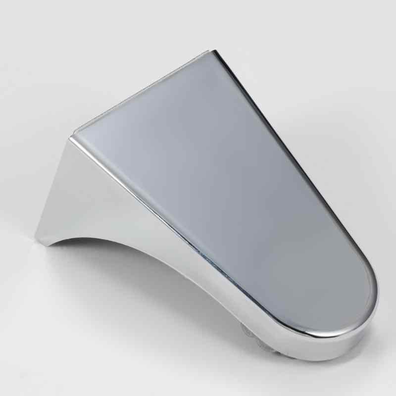 Porta Sapone magnetico Fissaggio A Parete Argento Container Dispenser Adesione Piatti di Sapone Per La Casa Pratici Accessori Per il Bagno