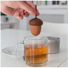 chinacea Silicone Design Loose Tea tool Creative  Tea Infuser/Tea Strainer/Coffee & Tea Sets/silicone